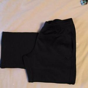 Adidas cropped exercise pants Medium